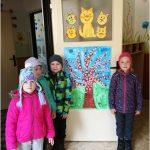 Kvetoucí strom - společná práce