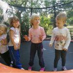 Poprvé na školní zahradě